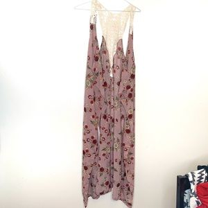 Live 4 Truth   floral and lace   Kimono   duster